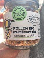 Pollen bio multifleurs des montagnes de Galice - Produit - fr
