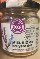 Miel bio de bruyere des montagnes de Galice - Product - fr