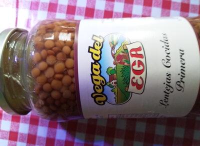Lentilles cuisinées - Product - es