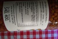 Lentilles cuisinées - Ingredients - es