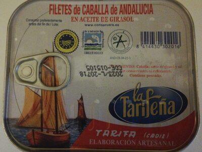 Filetes de Caballa de Andalucía