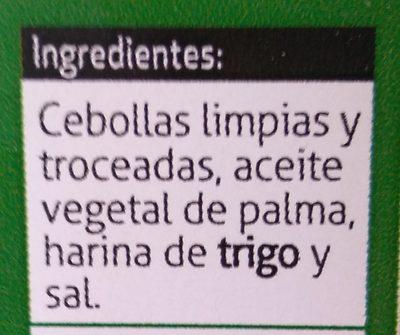 Cebolla Frita Muy Crujiente - Ingredients