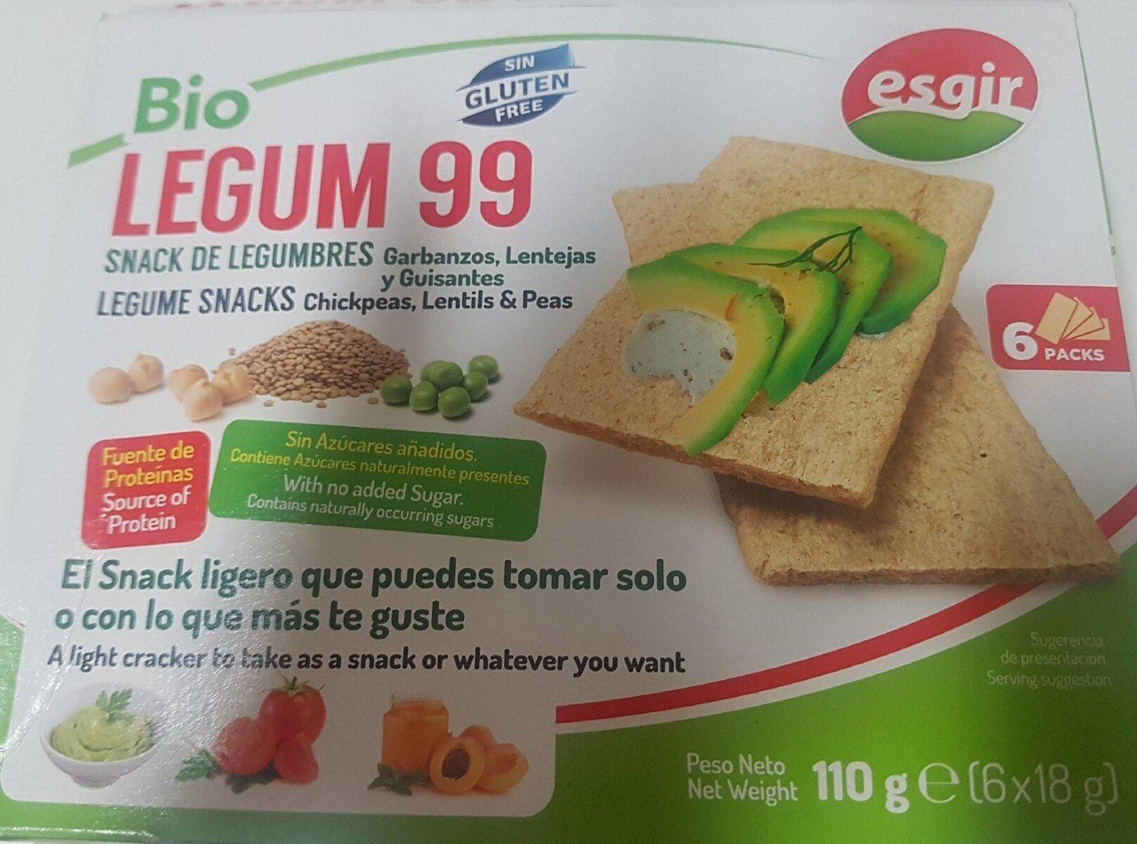 Legum 99 - Snack de legumbres - Producto