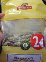 Pipa de girasol tostada con leña - Producte