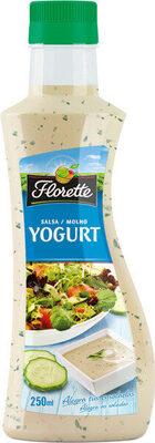Salsa yogurt - Produit - es