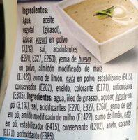 Salsa yogurt - Ingrédients - fr