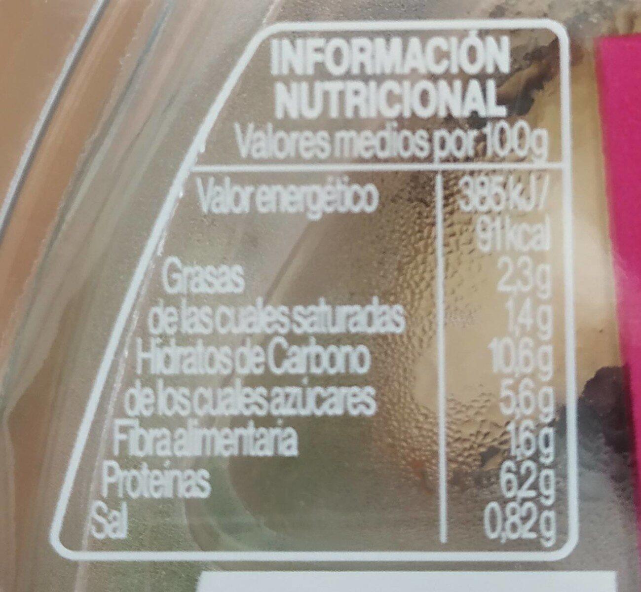 Ensalada Óptima - Nutrition facts - es
