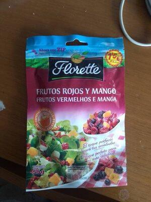 Frutos rojos y mango - Producto