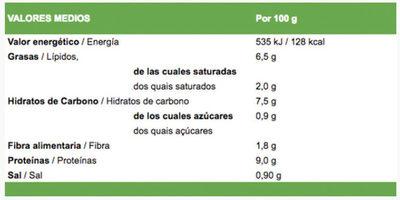 Ensalada César Light - Información nutricional - es