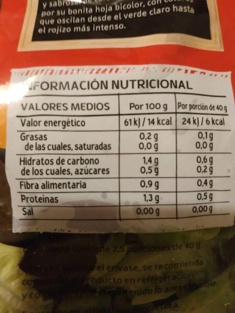 Trocadero - Ingrediënten
