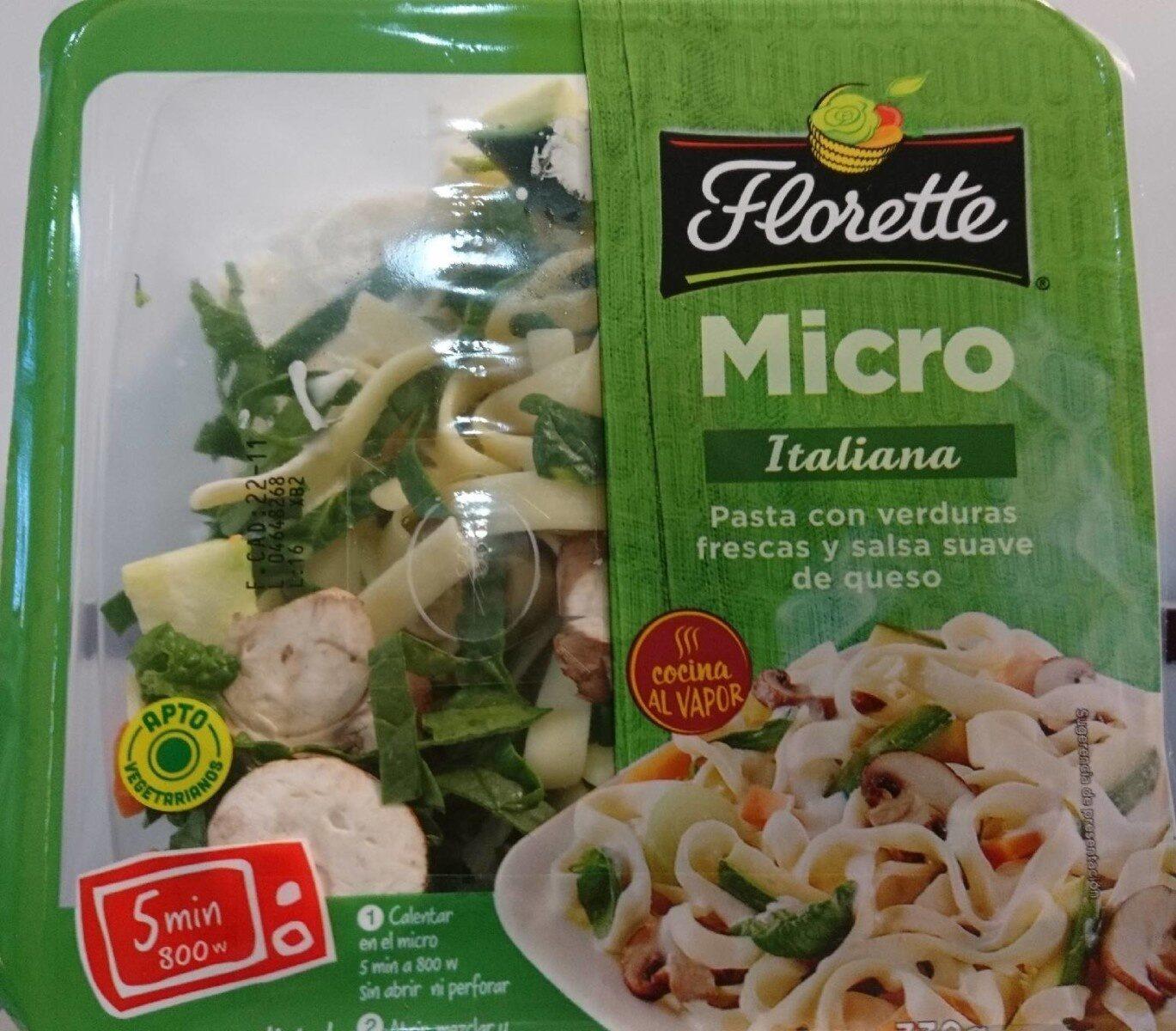 Florette Micro Italiana - Producte - es