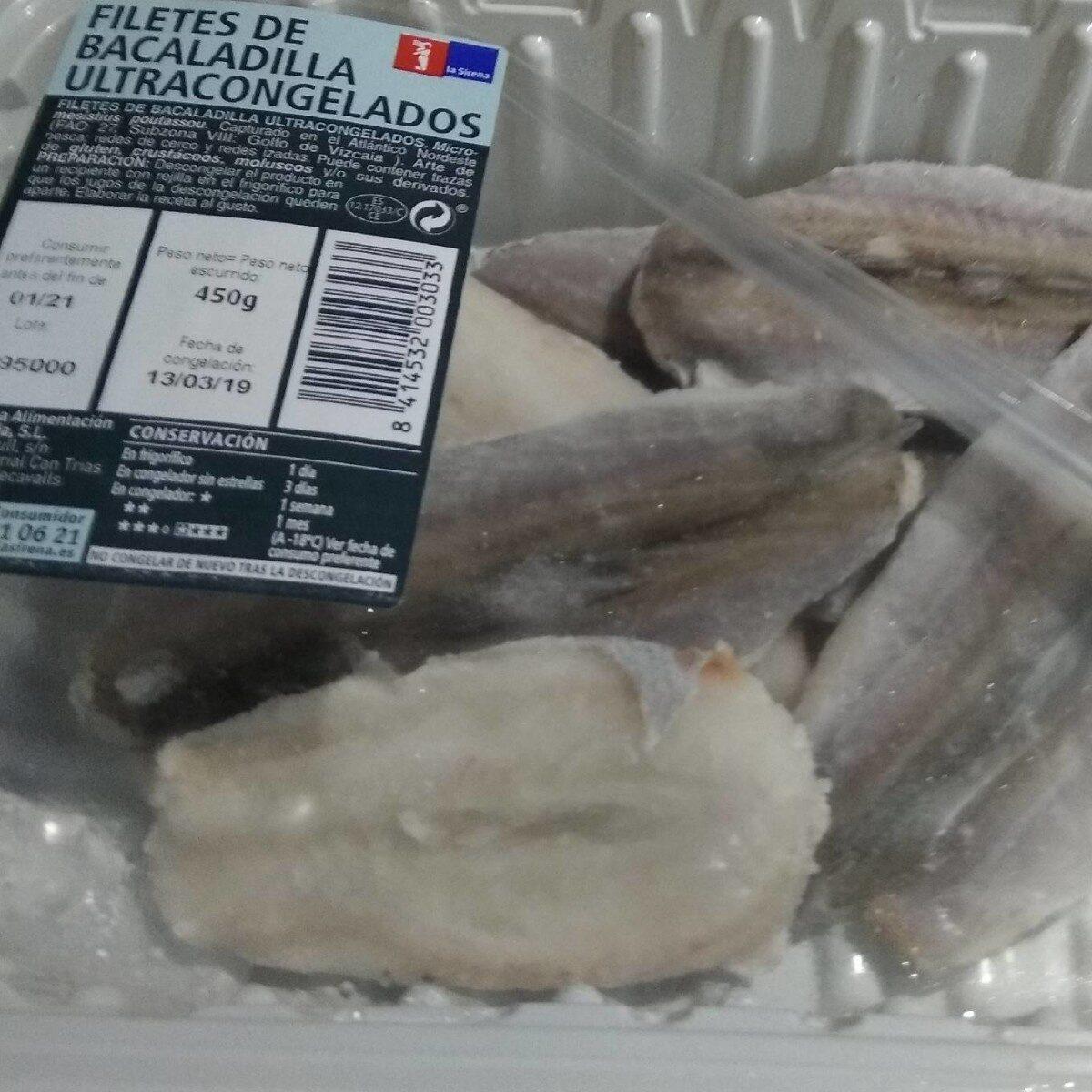 Filetes de Bacaladilla Ultracongelados - Producto - es
