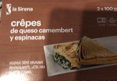 Crêpes de queso camembert y espinacas - Producto - es