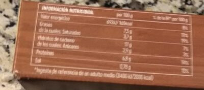 Crêpes de queso camembert y espinacas - Información nutricional - es