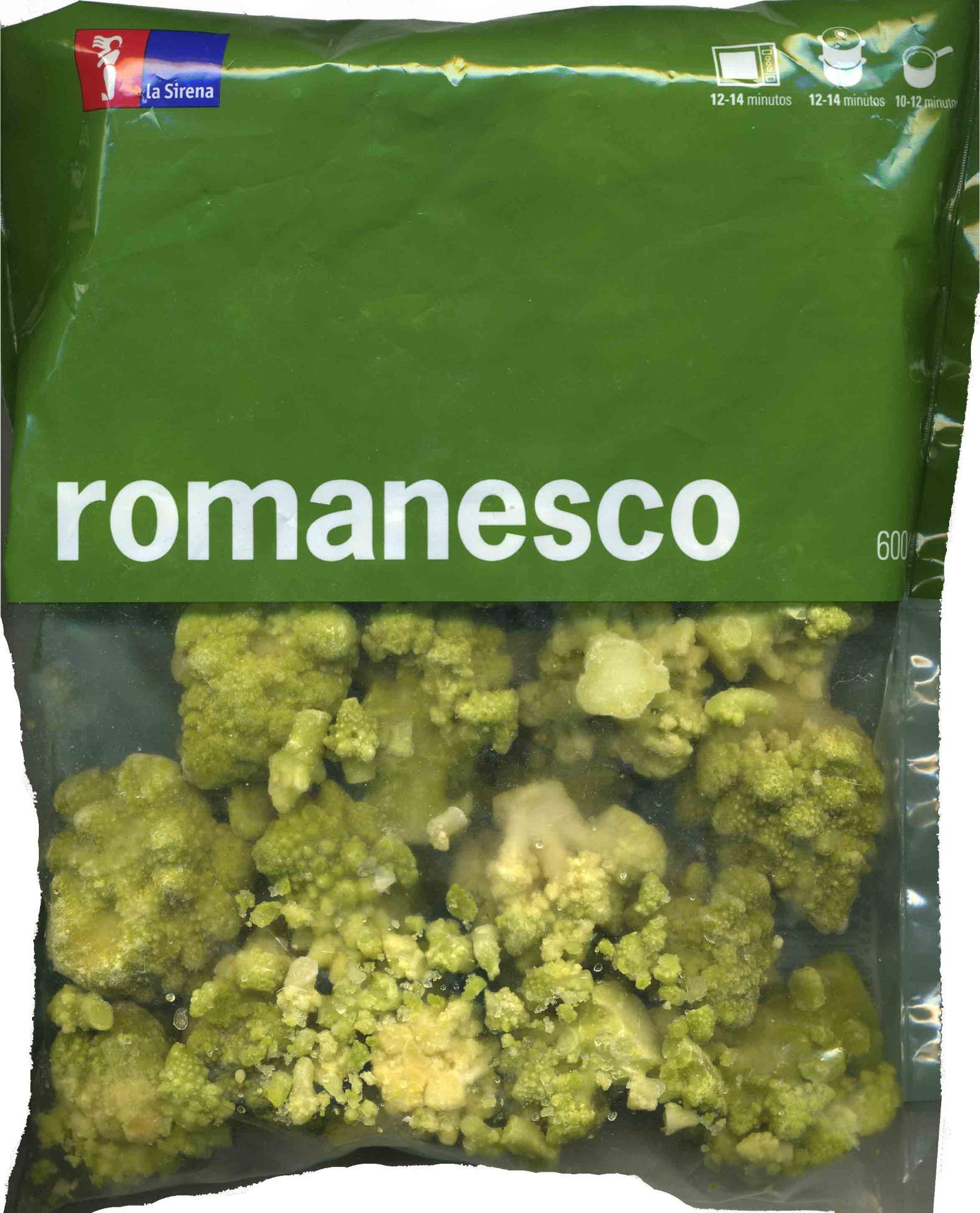 """Romanesco congelado """"La Sirena"""" - Producto - es"""