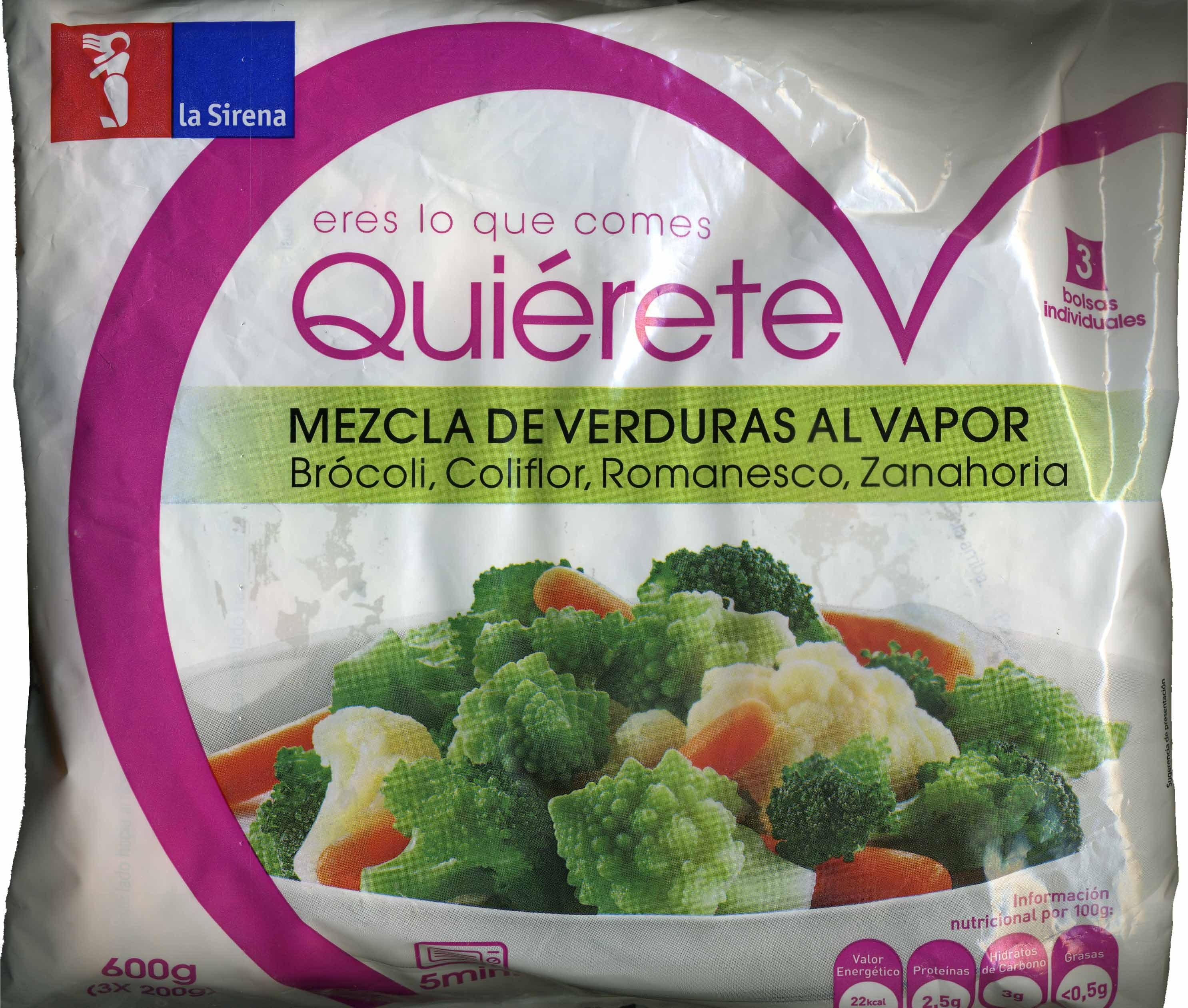 "Mezcla de verduras congeladas ""La Sirena"" - Producte"