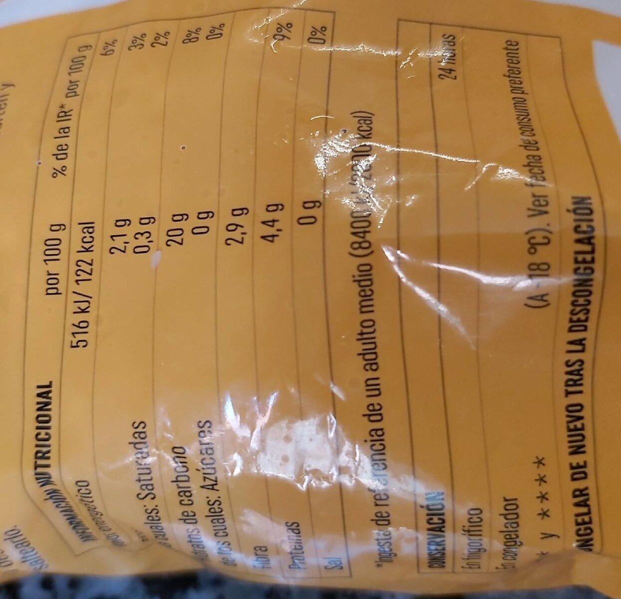 Quinoa precocida - Informations nutritionnelles - es