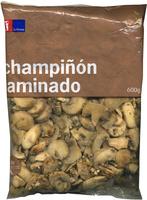 Champiñón laminado - Producto