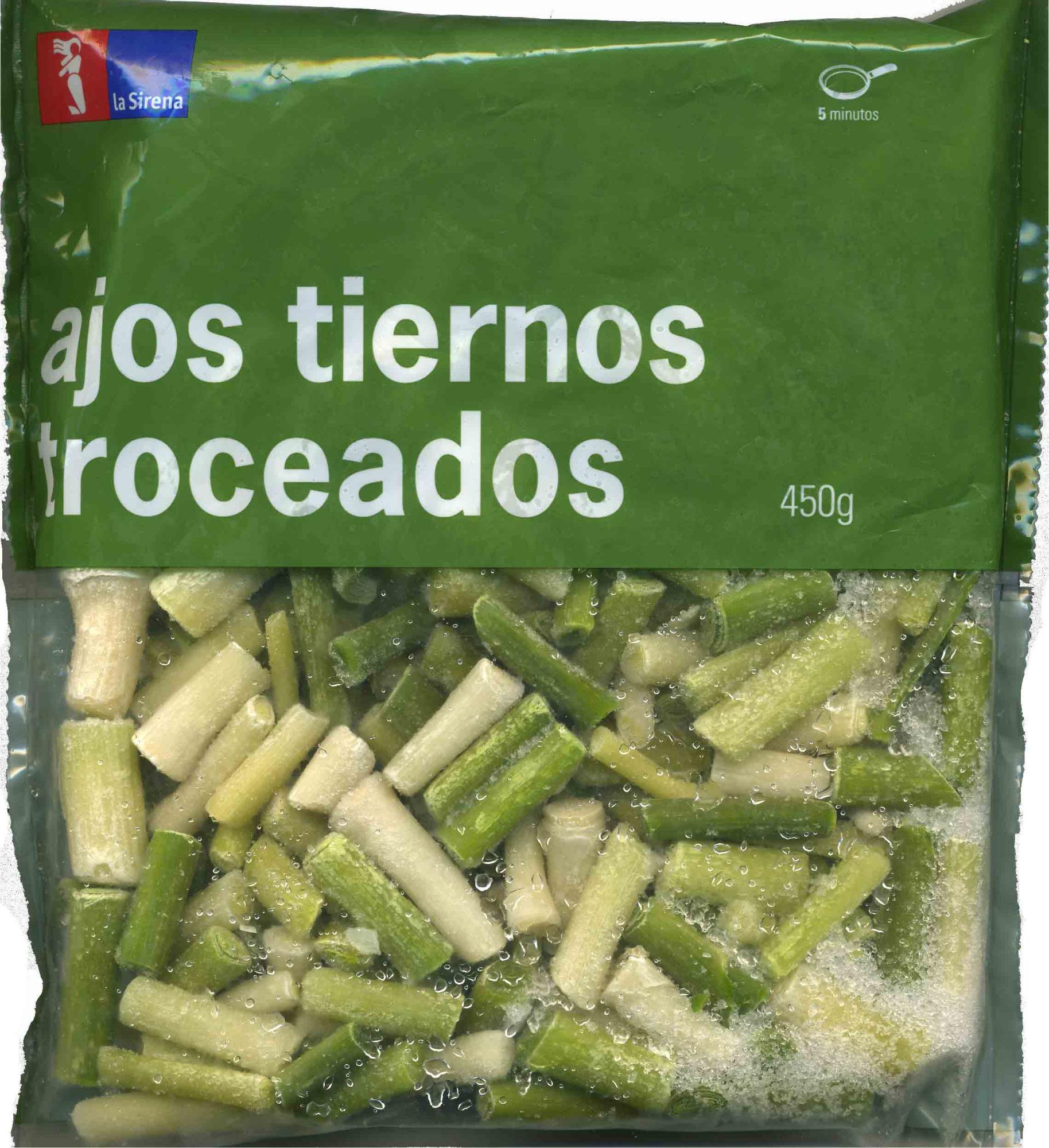 """Ajos tiernos troceados congelados """"La Sirena"""" - Producto"""