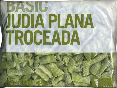 """Judías verdes planas troceadas congeladas """"La Sirena"""" Basic"""