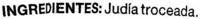 Judía plana troceada - Ingrediënten - es