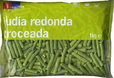 """Judías verdes redondas troceadas congeladas """"La Sirena"""""""