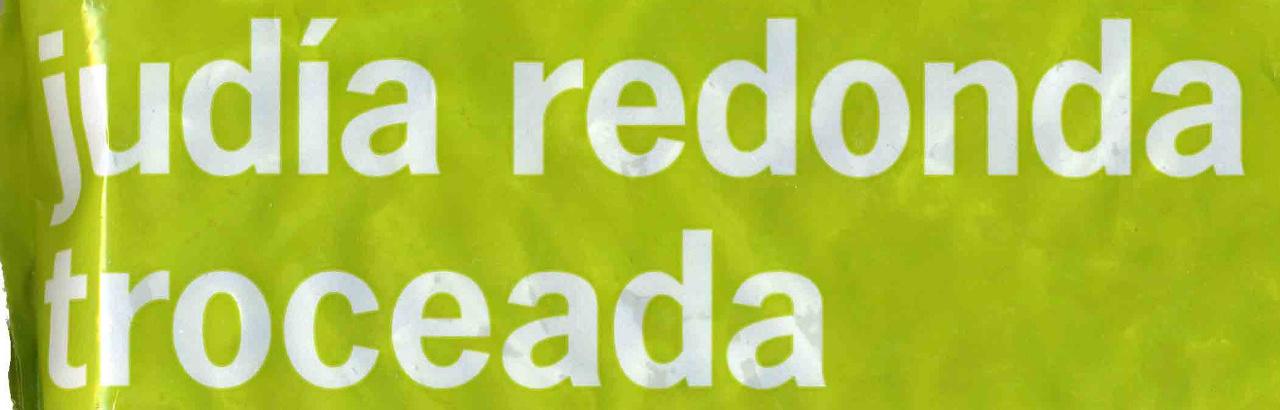 """Judías verdes redondas troceadas congeladas """"La Sirena"""" - Ingredientes"""