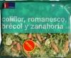 """Mezcla de verduras congeladas """"La Sirena"""" Coliflor, romanesco,  brécol y zanahoria"""