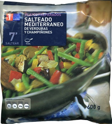 """Salteado de verduras congelado """"La Sirena"""" Mediterráneo - Product"""
