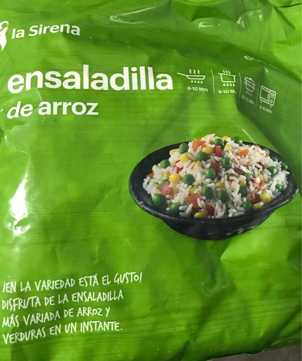 Ensaladilla de arroz - Produit - es