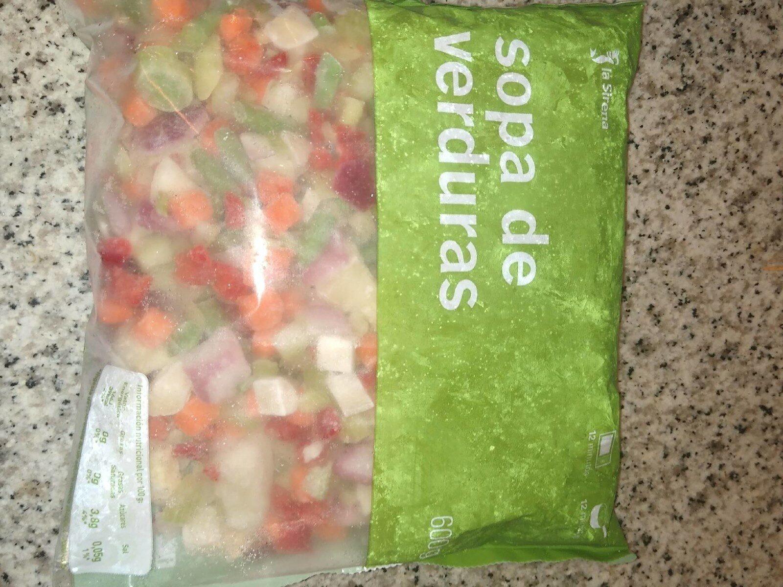 Sopa de verduras - Produit - es