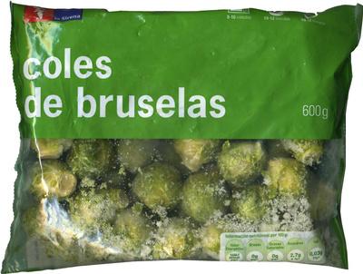 """Coles de Bruselas congeladas """"La Sirena"""" - Producto"""