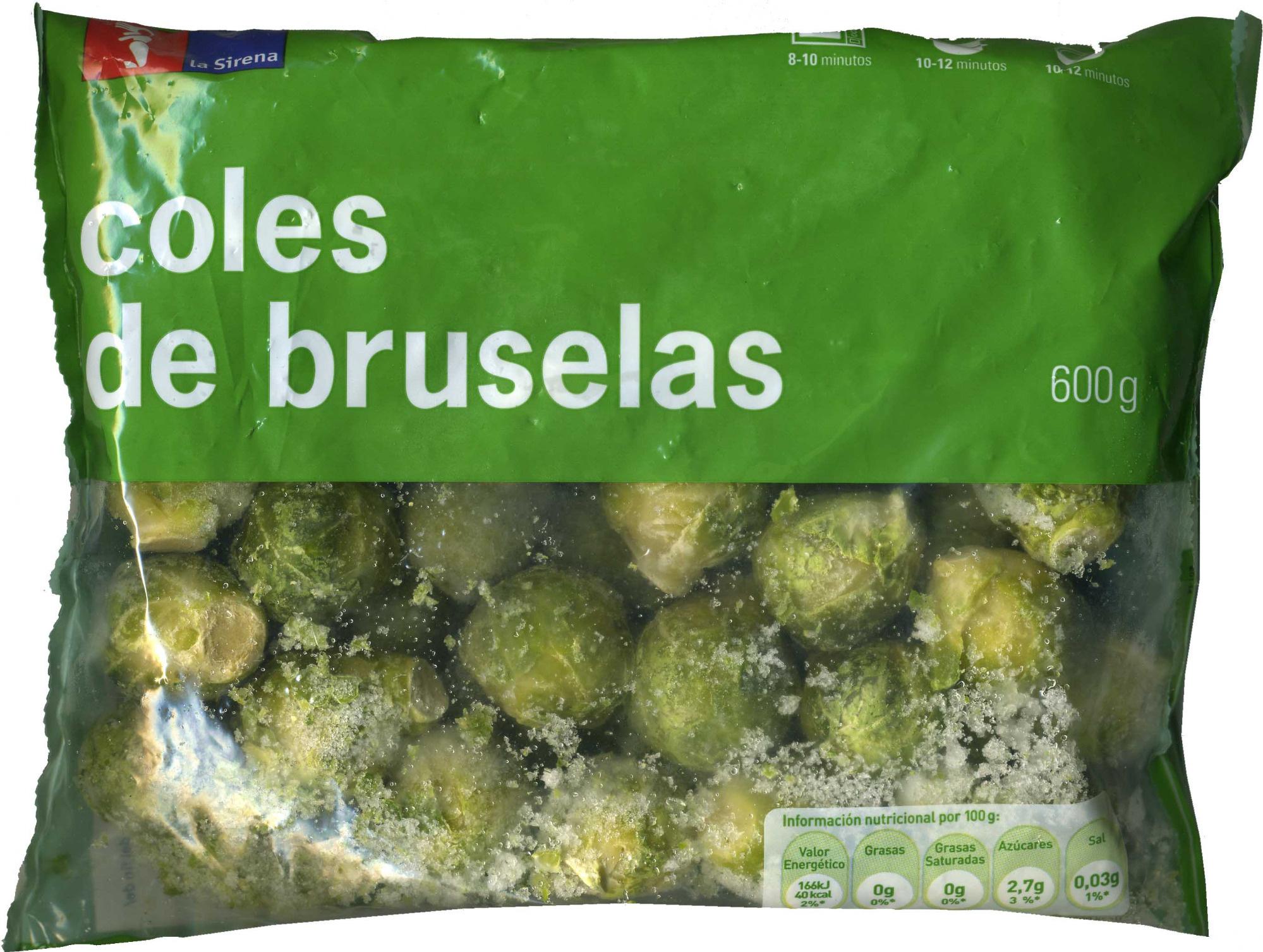 """Coles de Bruselas congeladas """"La Sirena"""" - Producte"""
