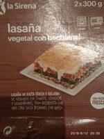 Lasaña vegetal con bechamel - Produkt - es