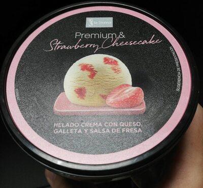 Helado Strawberry Cheesecake - Producto - en