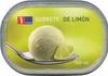 Sorbete con limon - Producto