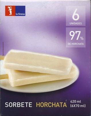 Polos de horchata - Producto - es