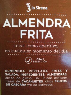 Almendras frita - Product