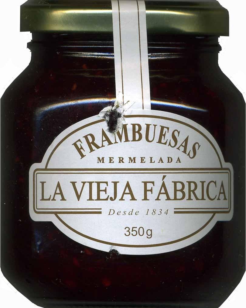 Mermelada de frambuesas - Producto - es