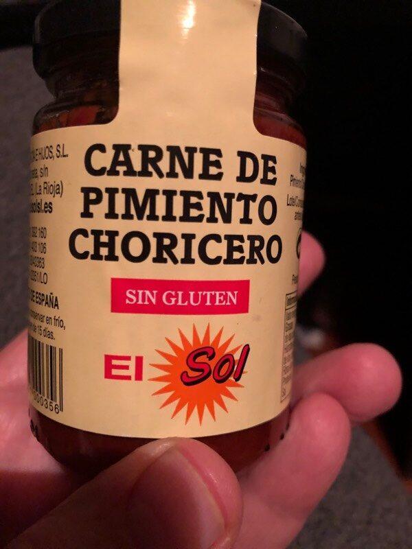 Carne de pimiento choricero - Producte