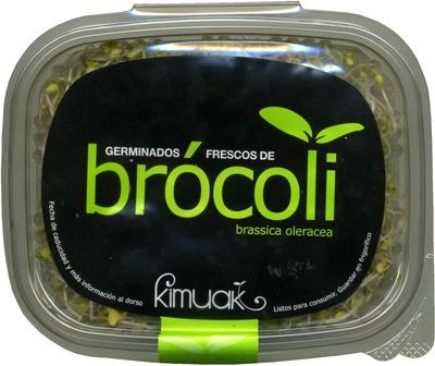 Germinados frescos de brócoli