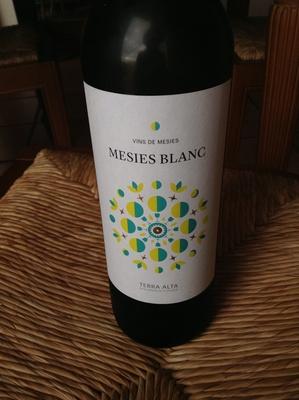 Mesies Blanc 2012 - Producto
