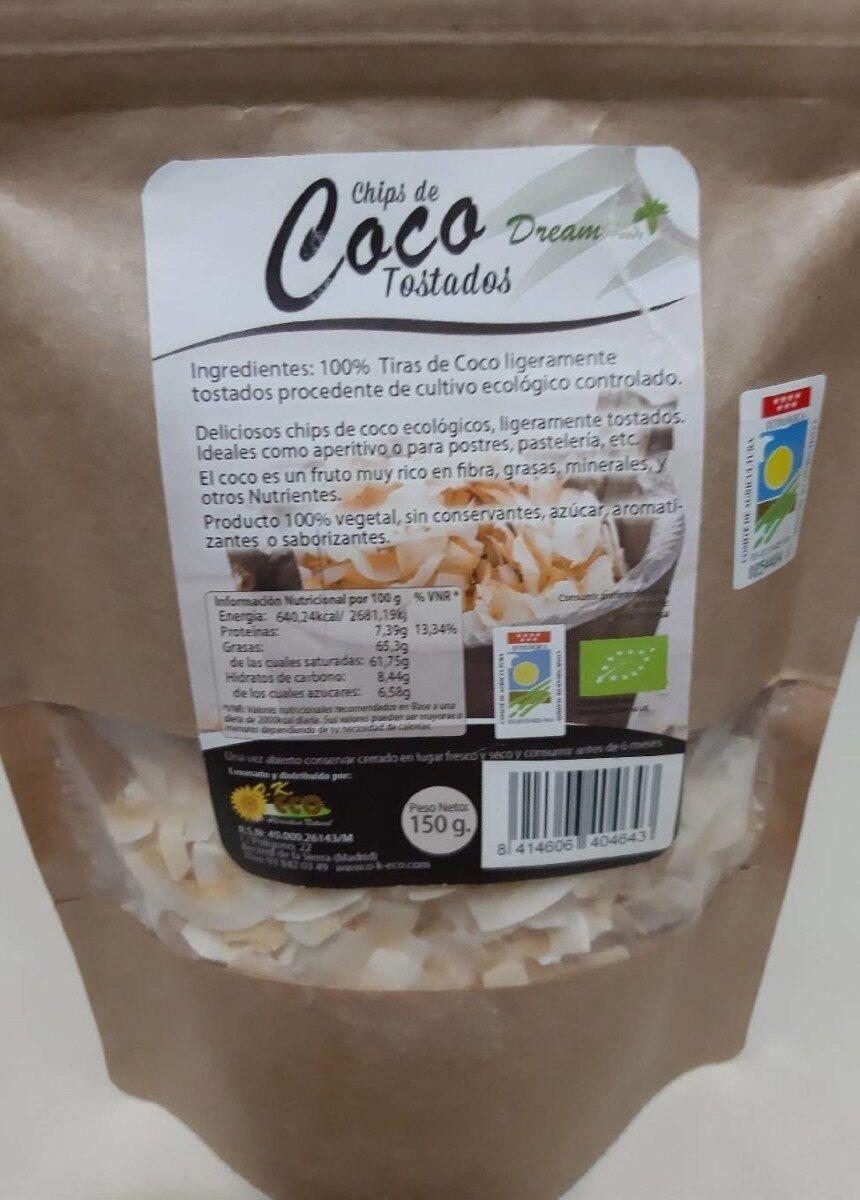 Chips de Coco Tostados - Product - es