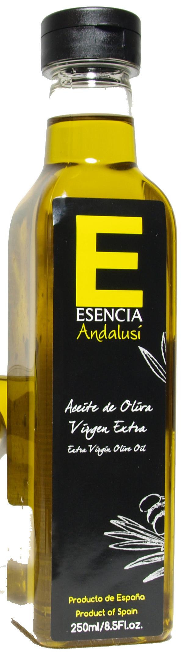 """Aceite de oliva virgen extra """"Esencia Andalusí"""" - Producto - es"""