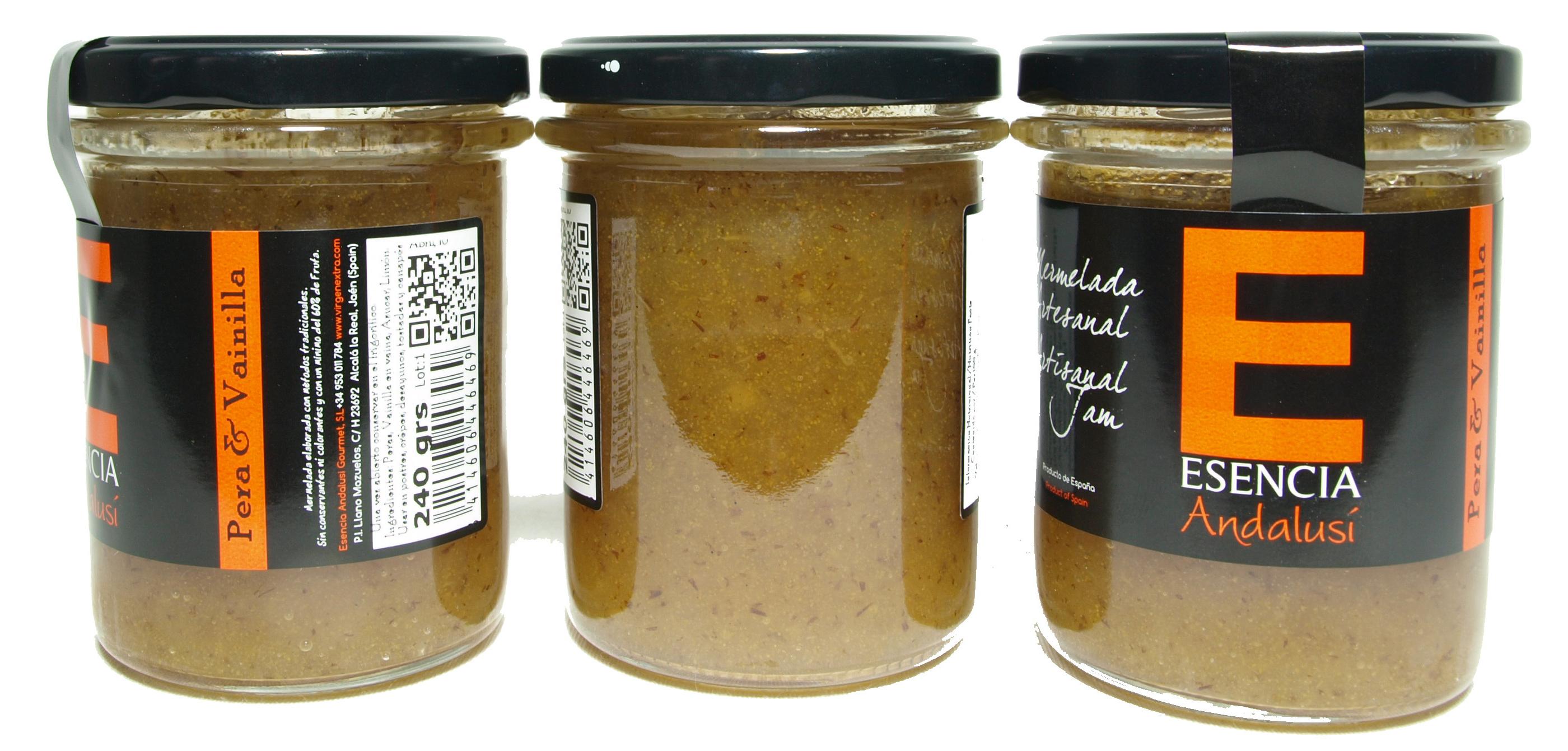 Mermelada de pera & vainilla - Product