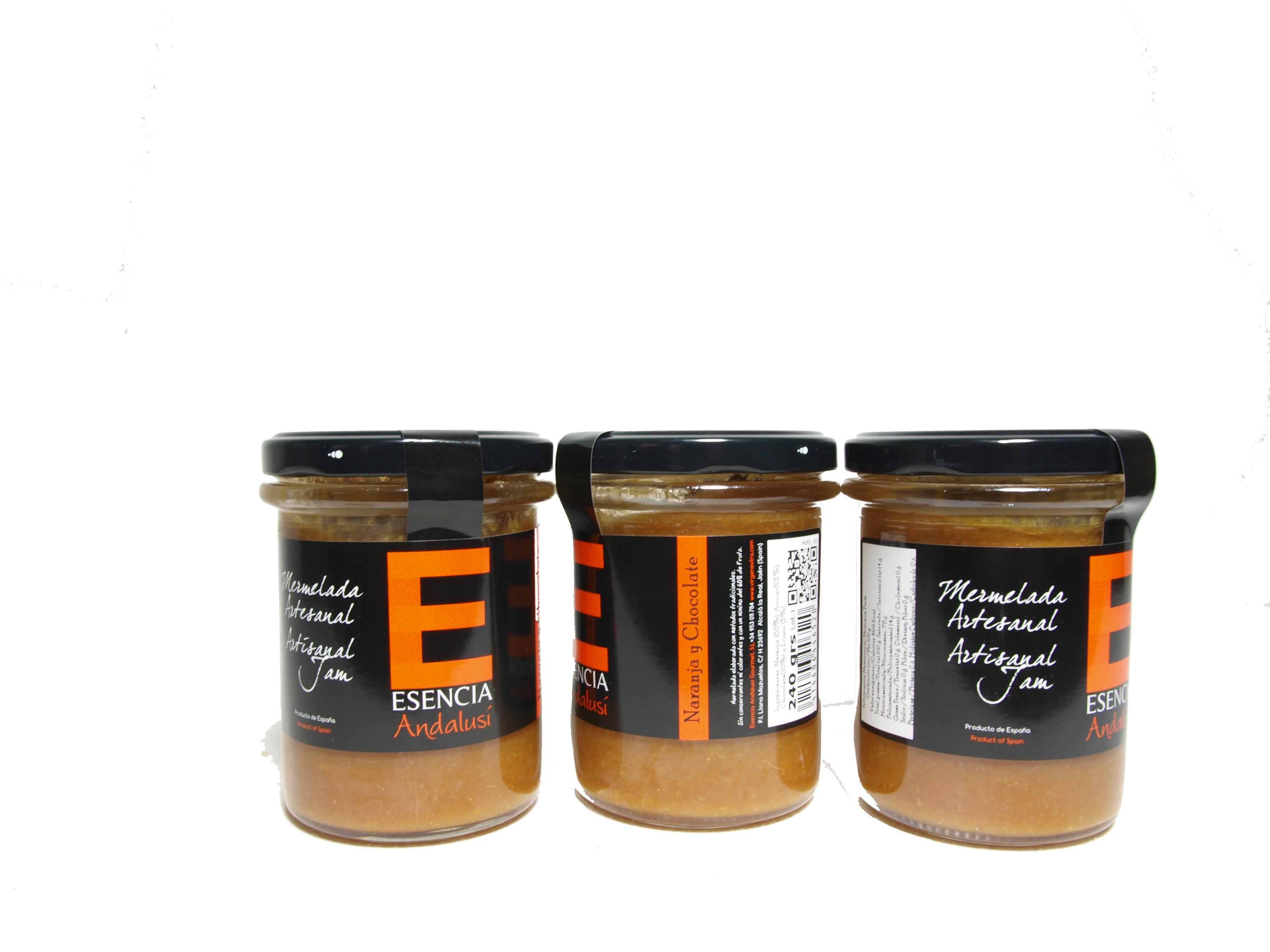 "Mermelada de naranja amarga ""Esencia Andalusí"" - Informació nutricional"