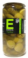 """Aceitunas con pepinillos """"Esencia Andalusí"""" - Producto - es"""