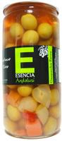 """Aceitunas verdes aliñadas a la gazpacha """"Esencia Andalusí"""" - Product - es"""