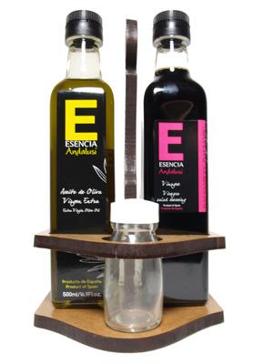 Convoy vinagre balsámico y aceite de oliva virgen extra - Produit - es