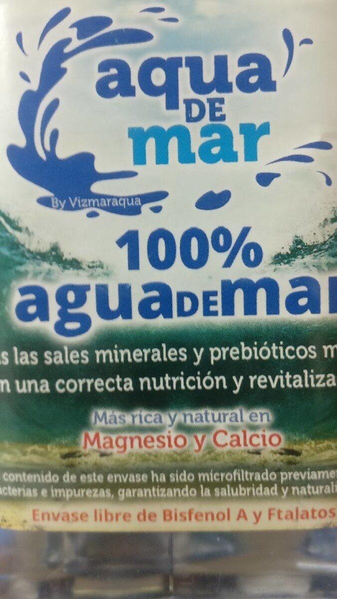 Agua De Mar Cocinar Aqua De Mar - Producto - fr